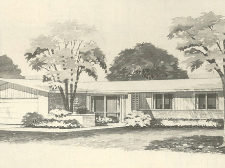 1950s Ranch House 1960s Ranch House Floor Plans 1960s