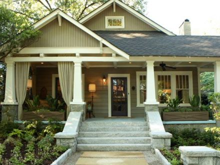 Craftsman Style House Plans craftsman style bungalow House exterior Pinterest