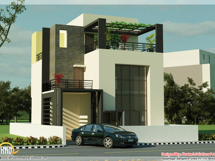 Small Modern House Plans Home Designs 3D Small House Plans
