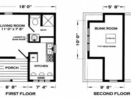 Tiny Cabin House Floor Plans Small Cabins Tiny Houses