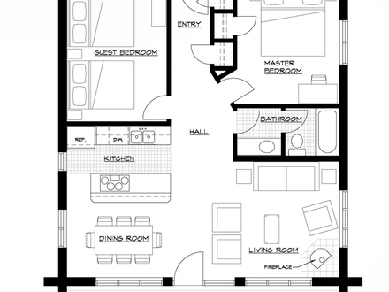 Aa9a266852ec29d1 Cabin Floor Plan Cabin With Open Floor Plan on flooring home designs html