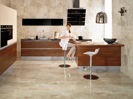 Modern Kitchen Floor Tile Design Ideas Contemporary Kitchen Floors