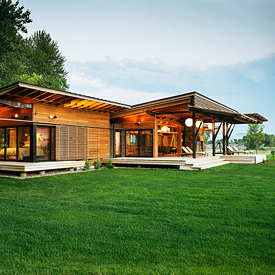 Craftsman House Plans Ranch Style: Ranch Style Homes Craftsman Modern Ranch Style House