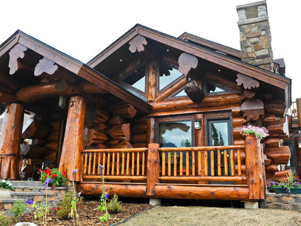 Log cabin ranch style home plans log ranchers homes ranch for Cedar cabin floor plans