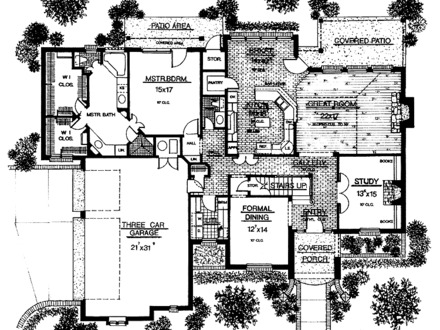 Historic mansion floor plans old plantation floor plans for English country manor house plans