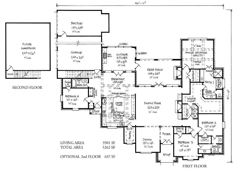French quarter style house plans louisiana style house for Home plans louisiana
