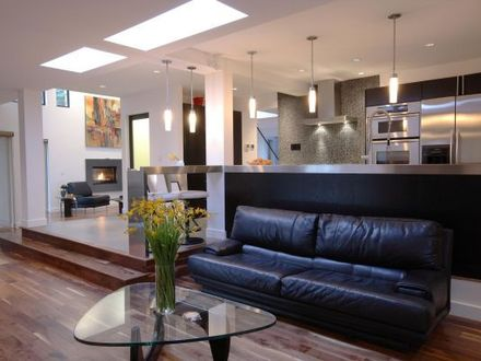 Modern Open Concept Floor Plans with An Great Room Open Floor Plans