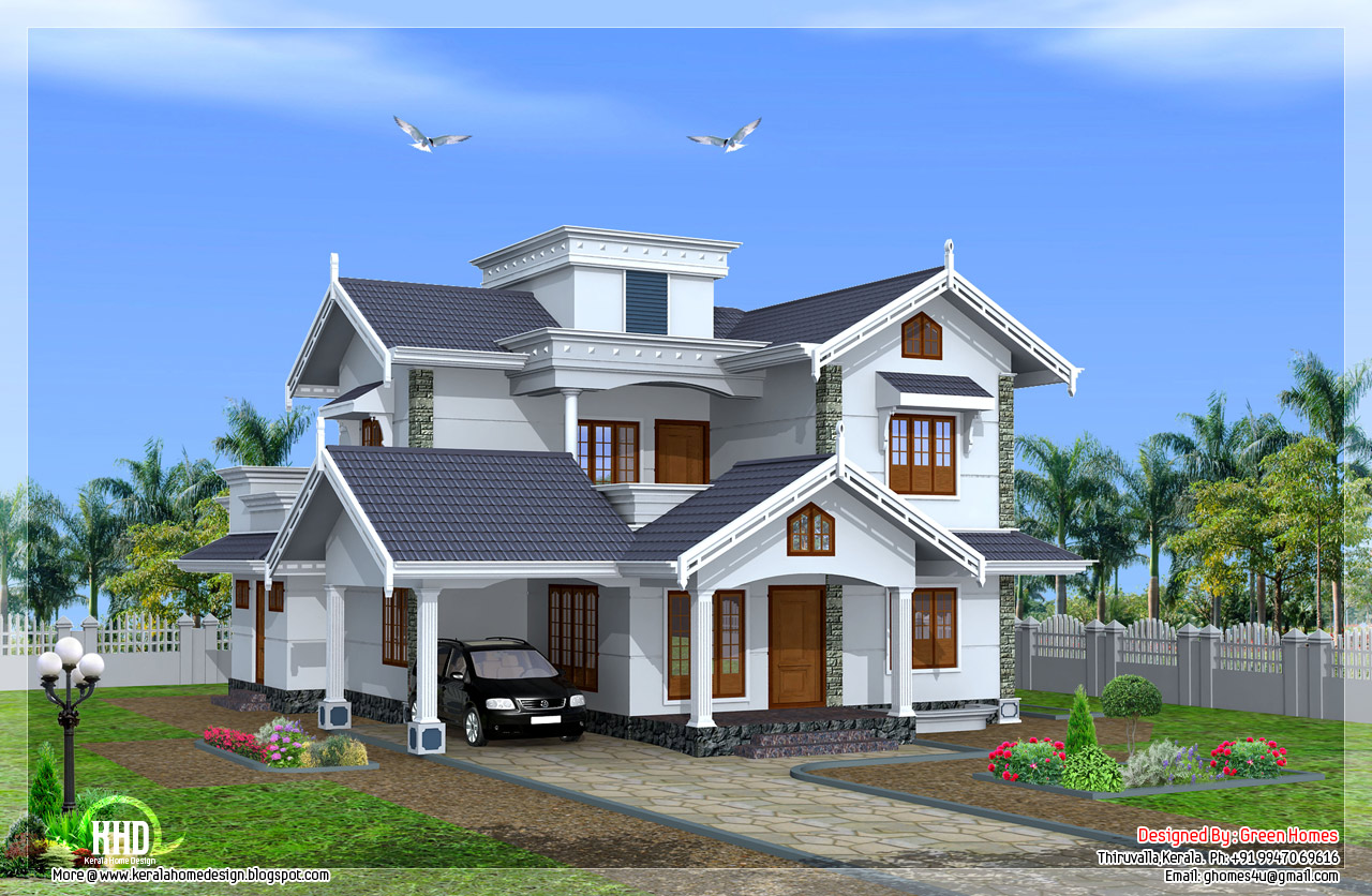 Normal House in Kerala Beautiful House Designs Kerala Style