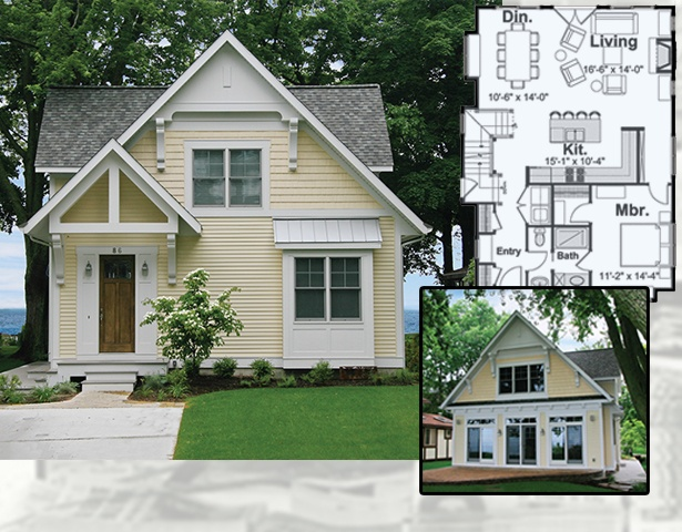 Small Victorian Cottage Floor Plans Small Victorian House