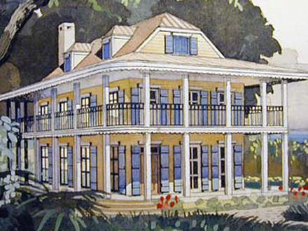 Tideland haven house plan the new tideland haven beach for Dog trot house plans southern living