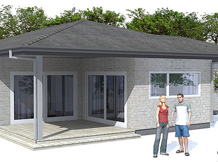 Affordable Home Modern Small House Plans Simple Modern ...