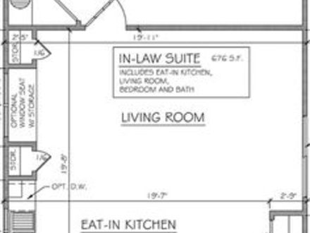 Mother in law addition plans mother in law cottages for In law addition plans