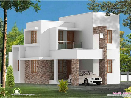 Simple Modern House Plan Designs Open Modern House Plans