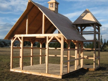 Small cabin plans small timber frame cabin kits timber for Small timber frame cottage