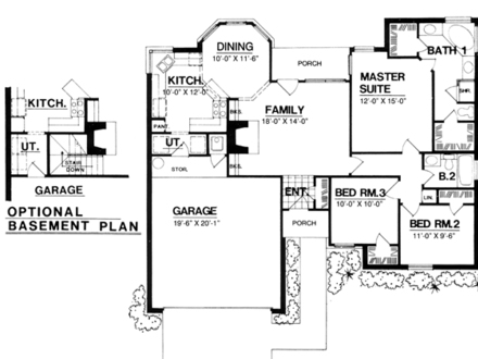 Square Foot Symbol 1300 Square Foot Open Floor Plans