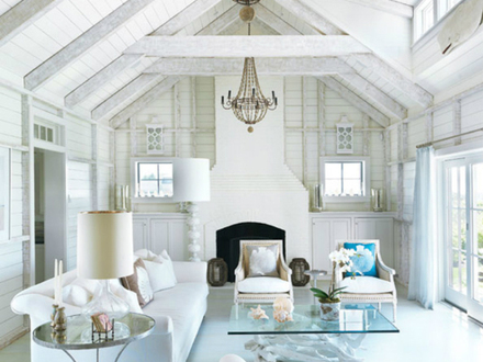 Beach Cottage Style Cottage Beach House Living Room