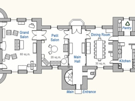 French Chateau Floor Plans French Chateau House