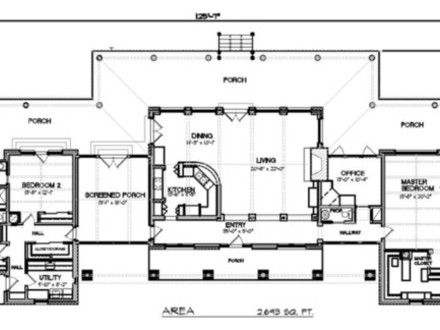 Modern ranch house plans country ranch house plans for Modern country floor plans
