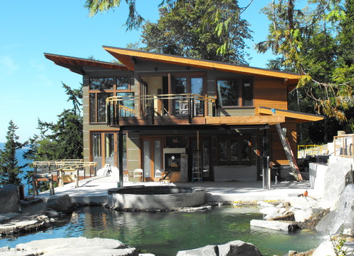 Contemporary modular homes northwest northwest for Northwest contemporary homes