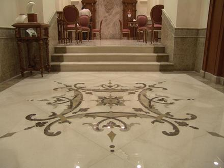 Marble Floor Tile Designs White Marble Floor Designs