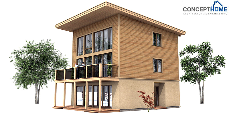 Small modern contemporary house plans metal contemporary for Small metal house plans