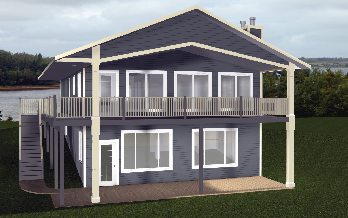 Cabin House Plans with Walkout Basement Country House Plans