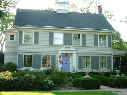 Dutch Colonial Style Home Plans Farm Colonial Style Home