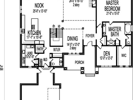 Middle class modern two story house two story modern house for 2 story open house plans