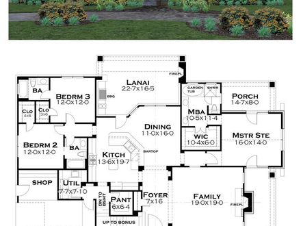 Tuscan House Plan Country House Plans