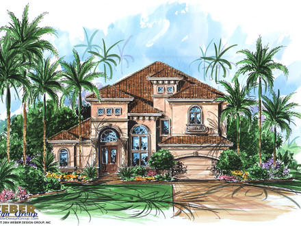 Small mediterranean style house plans spanish for Small spanish style house plans