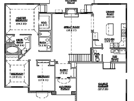Small House Floor Plan 3D Small House Plans