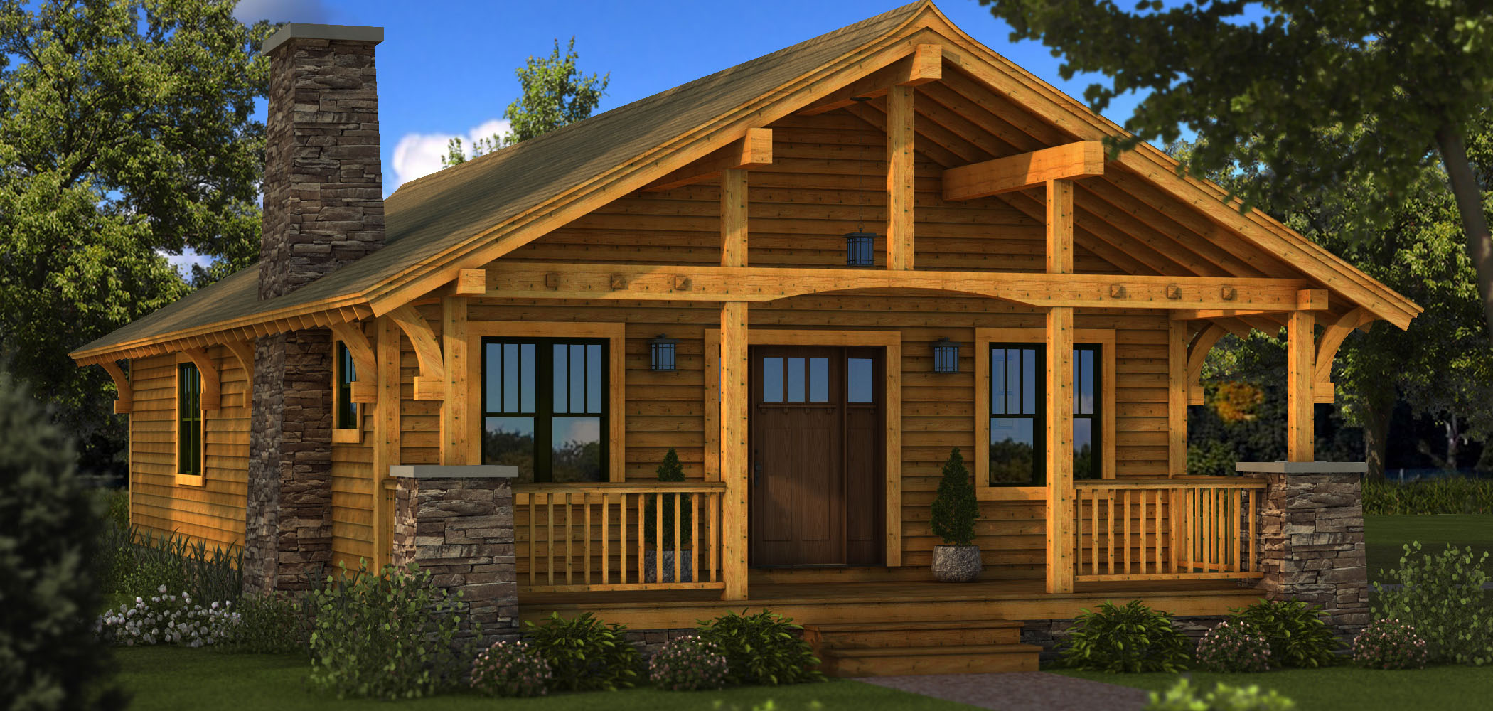 Small Rustic Log Cabins Small Log Cabin Homes Plans