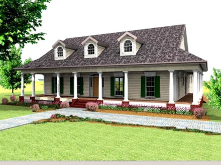 Southern House Plans Country House Plans with Wrap around Porches