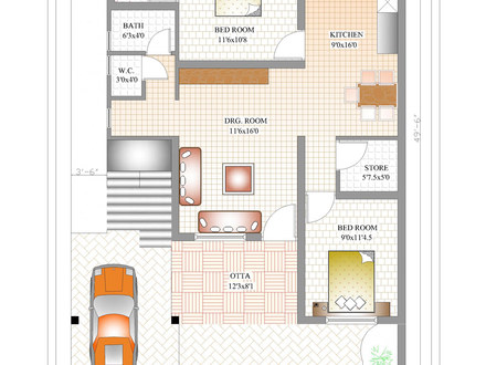 Indian House Plans Indian Small House Plans