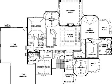 Villa plans and designs villa house floor plans villa for Italian villa blueprints