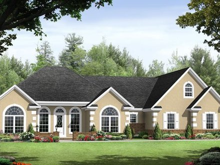 Split Bedroom Ranch House Plans Ranch Homes with Split Bedrooms