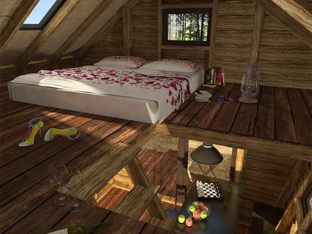 Unique Small Cabin Plans DIY Cabin Plans with Loft