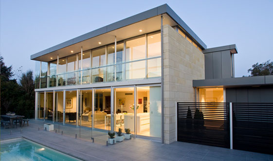 Very nice houses glass modern house design concrete for Very modern houses