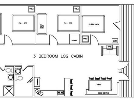 3 bedroom 2 story house 3 bedroom 2 story log cabin home for 1 bedroom log cabin floor plans