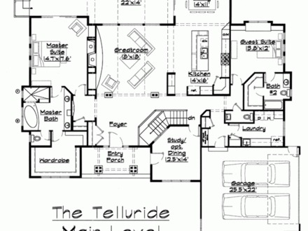 Ranch House Floor Plans Western Ranch House Plans