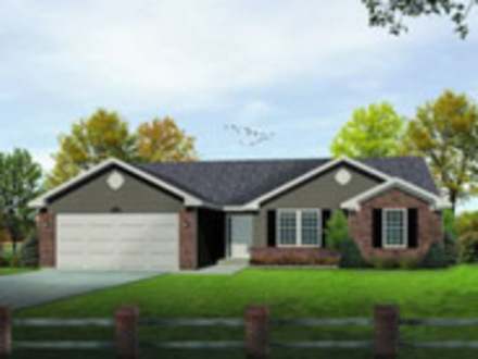 Single Level Ranch House Plans 3 000Sqft Single Level Ranch Home