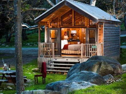 Tiny Cabin House Shipping Container Cabin