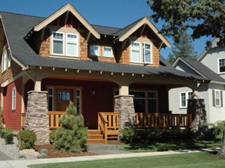Arts & Crafts Home Plans, Bungalow Style House Plans, 4 Bedroom Plans Craftsman Style Homes