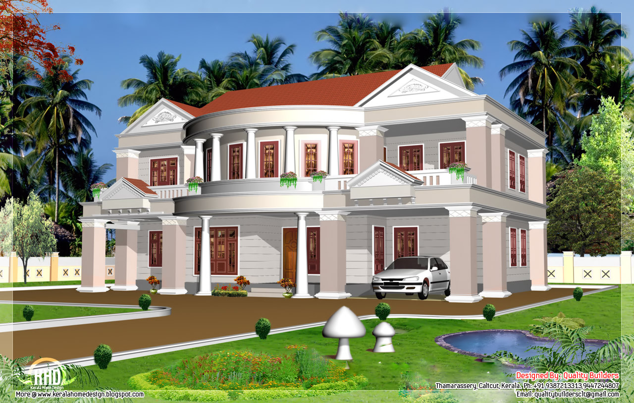 Big house designs big house blueprints quality house for Quality house plans