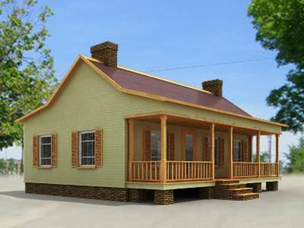 Small h photo of a small country house with beautiful for Country house collections