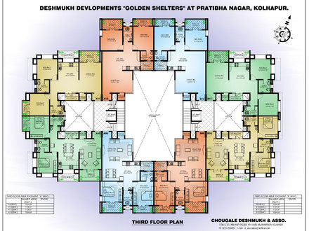 4 Bedroom Apartment Floor Plans Apartment Building Floor Plan Designs