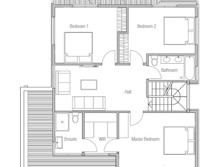 Affordable Small Modern House Plan Inexpensive Modern Home Designs
