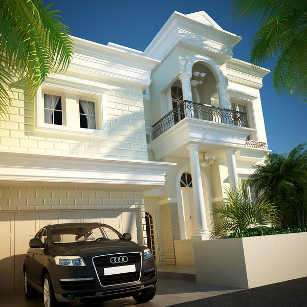 Classic modern house classic house styles modern classic for Modern classic house