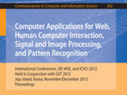 People Interacting Interaction, Signal and Image Processing, and Pattern Recognition