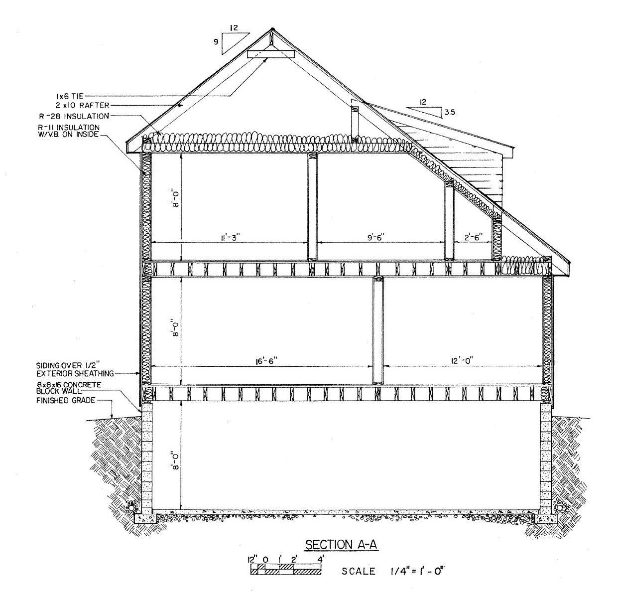 House saltbox floor plans small house floor plans salt for Saltbox cabin plans